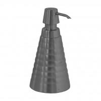 Дозатор для жидкого крема или мыло SH-06 ПИРАМИДА металлич. 300 мл