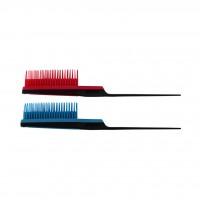 Расчёска-щетка для подъема корней волос #9965 гелевый (5 ряда)