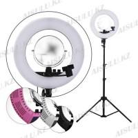 LED Лампа для визажиста кольцевая CM1708 Ø46, напольная (в ассорт.)