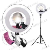 LED Лампа для визажиста кольцевая CM1801 Ø36, напольная (в ассорт.)