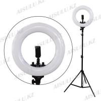 LED Лампа для визажиста кольцевая R-40 Ø36, напольная (в ассорт.)