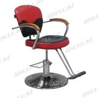 JH-8992 Кресло парикмахерское (черно-красное, кора дерева)