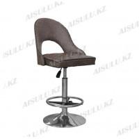 B-418 Кресло для макияжа со спинкой (коричневое, камень)