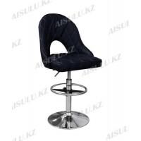 AS-418 Кресло для макияжа со спинкой (черное)
