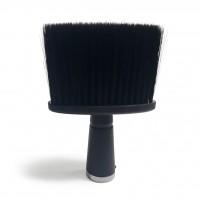 Щетка-сметка Barber #10-50A с ручкой, плоская черная глянцевая (в коробке)