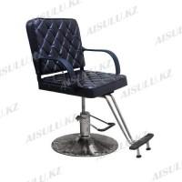 AS-8858 Кресло парикмахерское (темно-коричневое, гладкое)