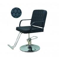 AS-8858 #5 Кресло парикмахерское (черное)