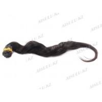 Волосы натур. 60 см на кератин. капсулах, не крашен. (100 в 1)