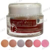 Гель для наращивания Gel UV Ouli T-3 3-в-1 Рink (биогель) 15 г