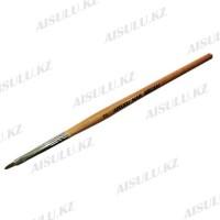 Кисточка для акрила AISULU Nail Brush №2 с дерев. ручкой