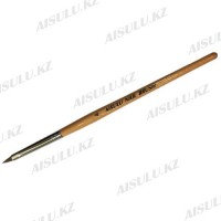 Кисточка для акрила AISULU Nail Brush №4 с дерев. ручкой