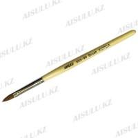 Кисточка для акрила №333 - 9# (с деревянной ручкой) AISULU