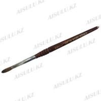 Кисточка для акрила №666 - 7# (с деревянной ручкой) AISULU