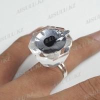 Кольцо для красок и клея ZJ 8-гранное стекло Бриллиант