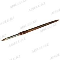 Кисточка для акрила №999 - 6# (с деревянной ручкой) AISULU