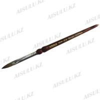 Кисточка для акрила №999 - 8# (с деревянной ручкой) AISULU