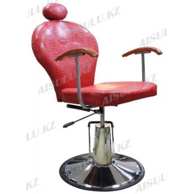 SH-83001 Кресло парикмахерское с откидной спинкой (красное, глянец,