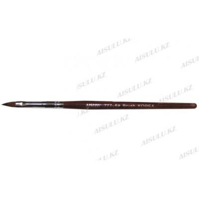 Кисточка для геля AS-777 - 6# (с деревянной ручкой) AISULU