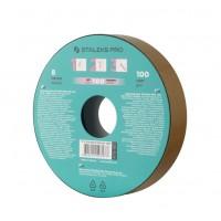 Запасной блок файл-ленты для пластиковой катушки Bobbinail STALEKS PRO 100 грит (8 м)
