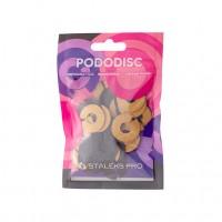 Сменные файлы-кольцо для педикюрного диска Pododisc STALEKS PRO L 100 грит (50 шт)