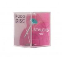 Диск педикюрный STALEKS PRO Pododisc XS со сменным файлом 180 грит 10 мм (5 шт)