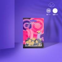 Сменные файлы для педикюрного диска Pododisc STALEKS PRO XS 320 грит (50 шт)