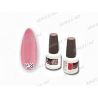 Лак гелевый для ногтей №008 (pink) 14 мл, AISULU