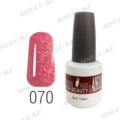Гель-лак для ногтей №070 14 мл AISULU