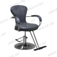 H-682 Кресло парикмахерское (серое,
