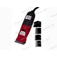 Машинка для стрижки волос GTS 888-В (2 съемных ножа, 4 насадки)
