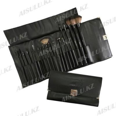 Набор кистей для макияжа - 20 шт. (колонок) на замке AISULU