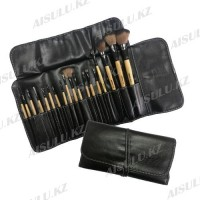 Набор кистей для макияжа - 18 шт., на завязках AISULU