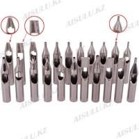 Набор наконечников для тату - нержавеющая сталь в уп. 22 вида