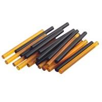 Палочки кератиновые (смола) для горячего наращивания волос 0,7 х 10 см (12 шт.)