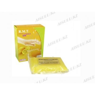 Парафин для рук и ног R.M.T. WAX-SPA лимонный (2 шт. по 450 г)