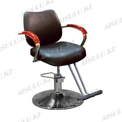 JH-8163 Кресло парикмахерское (коричневое, матовое)