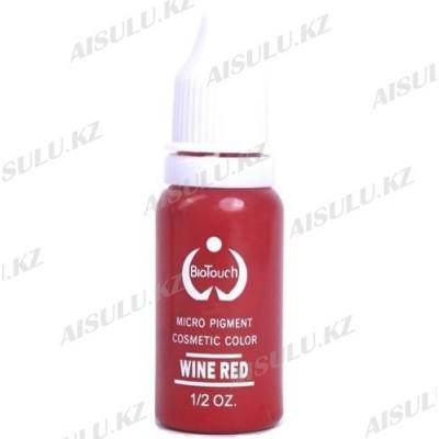 Пигмент для перманентного макияжа Biotouch 1/2 oz (Red Wine) Kитай