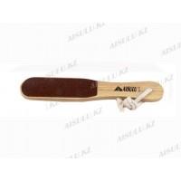 Пилка для ног деревянная AS-419 двухсторонняя (ср), AISULU