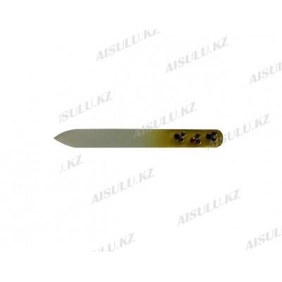 Пилка для ногтей стеклянная 9 см (1 шт.)