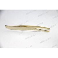 Пинцет для бровей AS-085 E (золото) AISULU
