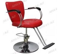 JH-8228 Кресло парикмахерское (красное, гладкое)