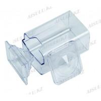 Посуда для одноразовых салфеток (пластик) с крышкой