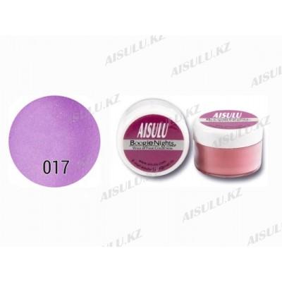 Пудра акриловая цветная №17 (фиолетовая) 20 г AISULU