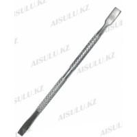 Пушер для маникюра Teze №21347 (серебро)