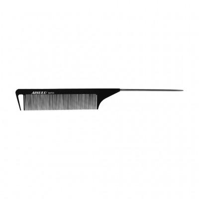 Расческа 06926 Carbon Antistatic, металл. хвостик AISULU