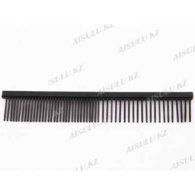 Расческа металл. комбинир. №1077-56-7 156 мм