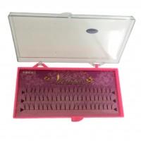 Ресницы Vivenne пучковые норковые на планшете 10 мм толщина 0,15 мм