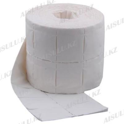 Салфетки одноразовые безворсовые 5 х 4 см 12 листов (в рулоне/500 шт.)