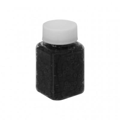 Скобы для холодного наращивания волос 100 г (черные/б)