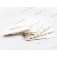 Ставка из натуральной шерсти для корневой защиты волос HS-T09 (6 шт.)